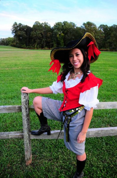 Jenn Moore's Pirate Costume