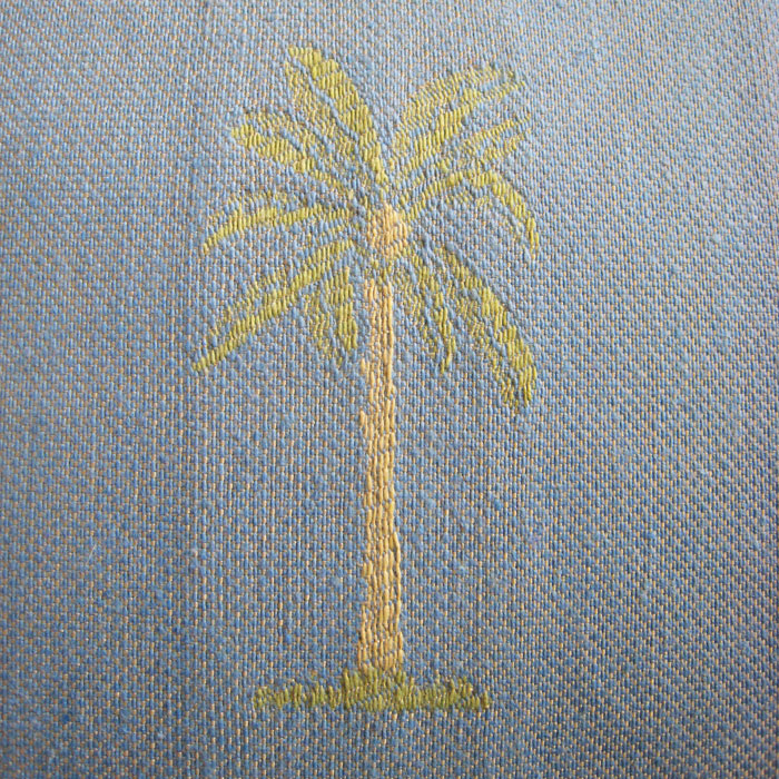 Palm Tree Pillow Covers - Detail